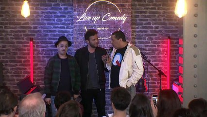 Live up Comedy #8 avec Booder, Smaïn Fairouze & Yann Stotz
