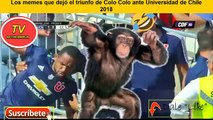 Los MEJORES  memes que dejó el triunfo de Colo Colo ante Universidad de Chile