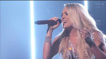 Carrie Underwood Goes Public for First Time Since Getting Facial Stitches