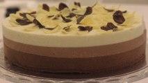 Gâteau aux 3 chocolats