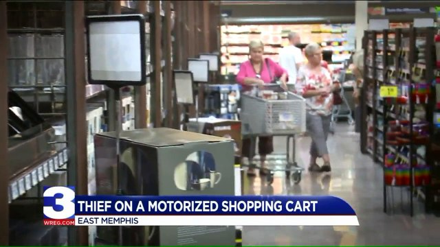 Woman Says Thief on Motorized Shopping Cart Snatched Her Purse in Grocery Store