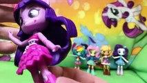 New My Little Pony Equestria Girls Minis Flash Rarity Applejack Fluttershy Twilight Rainbow Dash