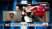 """Carlos Baute: """"Yo lloro por Venezuela"""""""