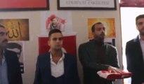 Ülkücüler Selçuk Üniversitesi'ne uç beyi atadı!