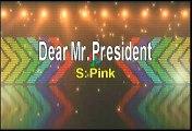 Pink Dear Mr President Karaoke Version