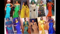 Long Gown Styles - African / Nigerian Style Occasions Outfit Ideas