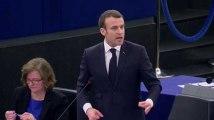 La grosse colère de Macron face aux eurodéputés hostiles aux frappes en Syrie