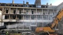 Démolition de l'ancienne école des Beaux-Arts