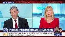 L'Europe selon Emmanuel Macron