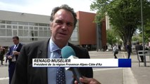 1èreConvention annuelle des Maires de la Région Sud - Provence-Alpes-Côte d'Azurdébriefavecle présidentde région RenaudMuselier