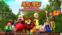 Motu Patlu King of Kings in 3D  Official Trailer  In Cinemas