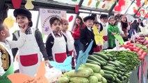 'Küçük pazarcılar' tezgah açtı - SAMSUN