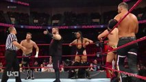Raw: Seth Rollins, Braun Strowman, Bobby Lashley, Finn Bálor & Bobby Roode vs Sami Zayn, Kevin Owens, The Miz, Curtis Axel & Bo Dallas (Bobby Roode gets drafted to Raw - Superstar Shakeup)