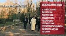 El Papa se lleva a la Curia Vaticana de ejercicios espirituales