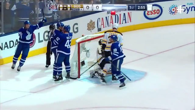NHL Highlights   Bruins vs. Maple Leafs, Game 3 - Apr. 16, 2018