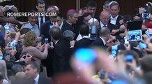 Desde España a Italia para entregar al Papa un rosario hecho por una anciana enferma