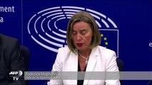 UE propone negociar adhesión con Albania y Macedonia