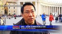 Delegación filipina agradece al Papa el apoyo por los daños del tifón Haiyán
