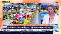 L'invitée: Stokomani, un 85e magasins et 300 recrutements prévus - 17/04