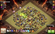 Clash of Clans max TH11 vs max TH11 Clan War 3 Star Attack Strategy Golem, Bowler, Healer