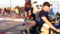 Bike Wheeling Stunts With Hot Girls - Worlds Best Bike Wheelers - HDEntertainment