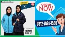 0812-7891-7560 | Agen Jaket Muslimah Siap Kirim Ke Plaju Kota Palembang