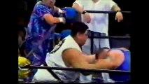 Arashi/John Tenta/Osamu Taitoko vs Koji Kitao/Koki Kitahara/Masaaki Mochizuki (WAR July 20th, 1996)