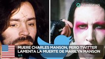 Muere Charles Manson: Twitter confunde la muerte de Charles Manson con Marilyn Manson - TomoNews