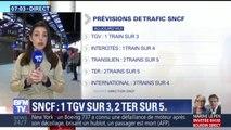 Grève SNCF: TGV, TER, RER… les prévisions de trafic pour ce mercredi