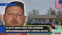 Hombre arrestado por disparar indiscriminadamente durante 5 horas en barrio residencial de Oklahoma