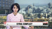 Confusion over whether chemical weapons watchdog has entered suspected chemical weapons attack site in Syria
