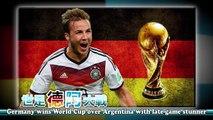 Final del Mundial Brasil 2014: Alemania vence en duro partido a Argentina por 1-0 en tiempo extra