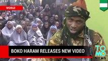 Boko Haram divulga nuevo video exigiendo liberación de presos en intercambio por niñas secuestradas