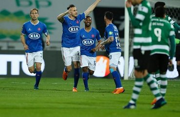 Liga Nos : Yebda marque face au Sporting avant de se faire expulser
