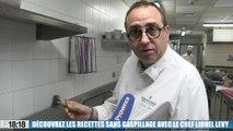 Découvrez les recettes sans gaspillage du chef Lionel Levy