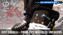 Just Cavalli From City Walls to Sneakers Six Street Artists Six Walls   FashionTV   FTV