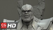 """CGI VFX Breakdown HD """"Guardian of the Galaxy Thanos"""" by Luma Pictures 
