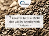 Best Fonts for Designers 2018   Trending Fonts   Infojini Consulting
