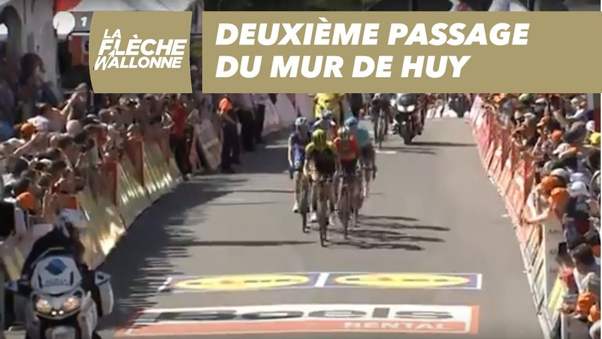 Deuxième passage du Mur de Huy - La Flèche Wallonne 2018