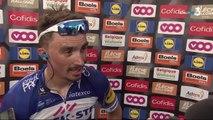 """Flèche Wallonne / Julian Alaphilippe :""""Je pensais que Nibali était encore devant"""""""