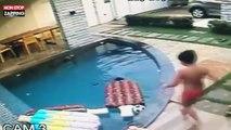 Un enfant sauve son petit frère de la noyade (vidéo)