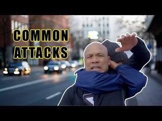 Self defense moves against common attacks