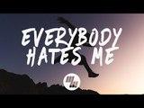 The Chainsmokers - Everybody Hates Me (Lyrics / Lyric Video) James Carter x NLSN Remix