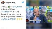 Notre-Dame-des-Landes : Nicolas Hulot hué par les riverains à l'aéroport de Nantes