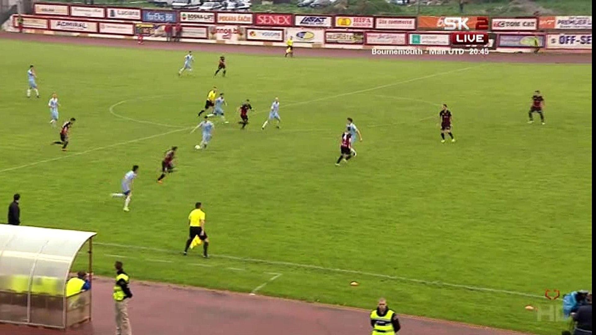 FK Sloboda - FK Željezničar [Kup] / Sporna situacija 1:2