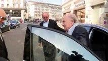 Football : rencontre avec Sepp Blatter, président suspendu de la FIFA