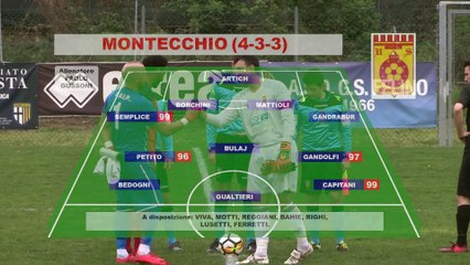 Felino - Montecchio 1-3 HIGHLIGHTS