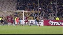 1-0 Το ΑΠΙΣΤΕΥΤΟ γκολ του Λάζαρου Χριστοδουλ�
