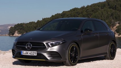 The new Mercedes-Benz A 250 Edition Exterior Design