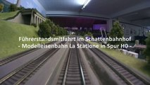 Führerstandsmitfahrt mit der JVC Adixxion GC-XA 2 als Modellbahnkamera im Schattenbahnhof - Ein Video von Pennula über Modellbahnanlagen und Modelleisenbahnanlagen